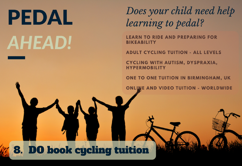 book cycling tuition